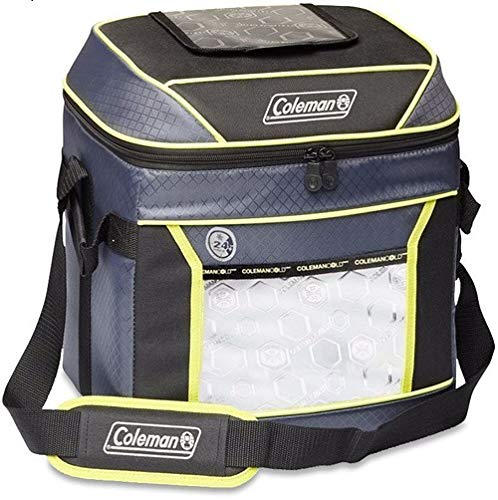 Coleman Soft Cooler Bag | Keeps Ice Up to 24 Hours | 30 Can Cooler, Red