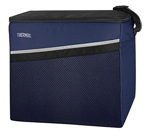 THERMOS Kühltasche Classic groß 25 Liter - Isolierte Einkaufstasche aus Polyester, blau 29 x 35,5 x 32 cm - Faltbare Isoliertasche ideal für Sport, Picknick, Büro, Auto oder Urlaub - 4080.252.250