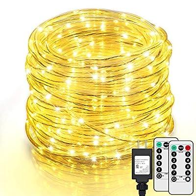 SHINE HAI 99Ft LED Rope Lights Outdoor, 500 LED...