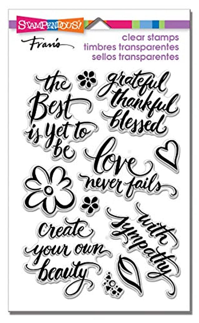 Stampendous SSC1308 Clear Stamp Set