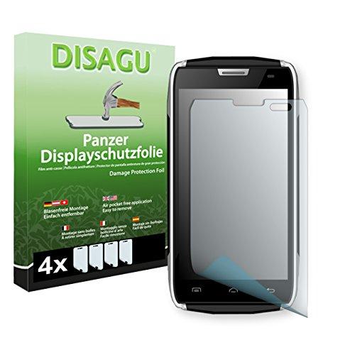 4 x DISAGU Pellicola alta protezione del display per DOOGEE TITANS2 DG700 antirottura