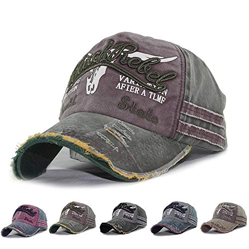 CheChury Baseballmütze Basecap Baseballcap Mützen Caps Kappe Unisex Einstellbare Retro Baseball Hut Freizeit Cap modischste Vintage Golf Sport Outdoor