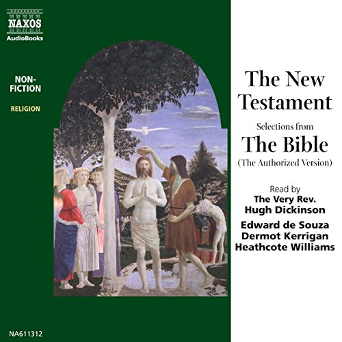 The New Testament (Unabridged Selections) audiobook cover art