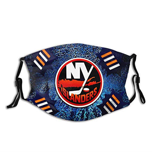 New York is-LAN-Ders Unisex Mouth Anti Dust Protection Adjustable Facial Breathable Face Mask Black