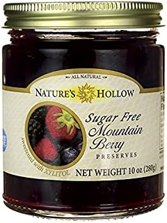 nature's hollow sugar free jelly