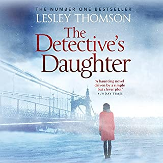 The Detective's Daughter audiobook cover art
