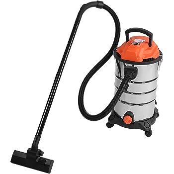 Aspirador 30L 1200W aspirador en seco y húmedo máquina de limpieza extremadamente silencioso, filtro higiénico enchufe EU 220V: Amazon.es: Bricolaje y herramientas