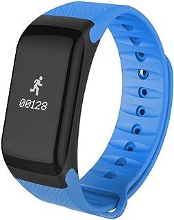 Smart Touch Fitness Tracker Wireless Bluetooth Actividad Track Watch W/Monitor de ritmo cardíaco Contador de calorías contador delgado podómetro banda