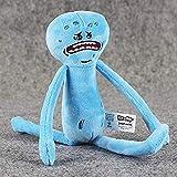 Fulinmen Cartoon Plush Toy Rick Morty Plush Toys Happy Sad Foamy Mr Meeseeks Plush Dolls Mr. Poopybutthole Soft Stuffed Toys 20-30Cm