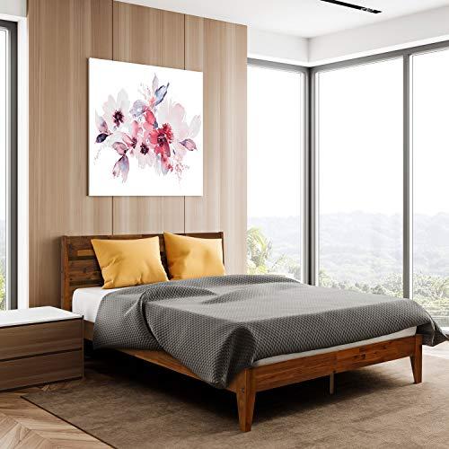 Acacia Platform Bed Frame