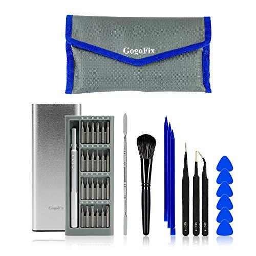 GogoFix precisieschroevendraaierbits met de nodige reparatietool voor MacBook, iPad, iPhone, gameconsoles, camera's, laptops en andere elektronische apparaten