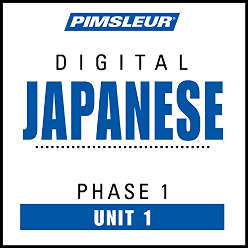 Japanese Phase 1, Unit 01 audiobook cover art