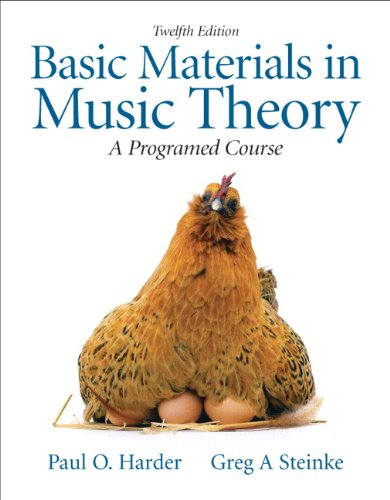 Basic Materials in Music Theory: A Programmed Approach (12th Edition)
