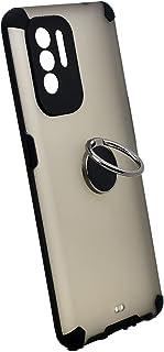جراب حامل معدني مغناطيسي لهاتف Oppo A94 (أسود)