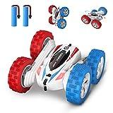 DEERC DE35 Ferngesteuertes Auto mit 2 Akkus für Kinder,RC Car mit 2,4 Ghz Fernbedienung,High Speed,360° Flip Spielzeugauto Fahrzeug Outdoor und Indoor für Jungen und Mädchen