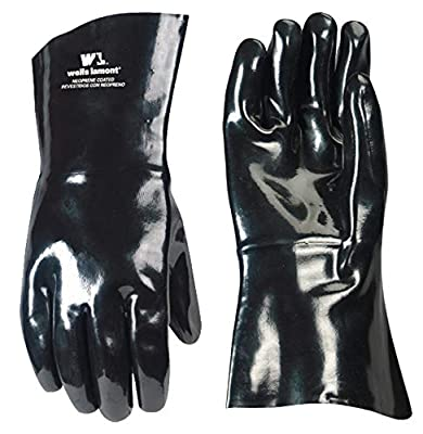 Wells Lamont Work Gloves, Neoprene Coated, One Size