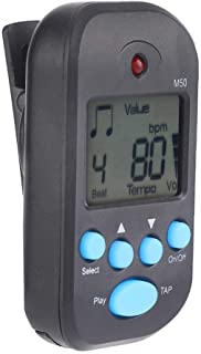Digital Metronome, Plastic Portable Mini Digital Metronome, for Guitar Violin for Piano Saxophone