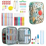 KOKNIT Crochet Hook Set, Crochet Knitting Needles Kit with Case Holders for Beginners, Ext...