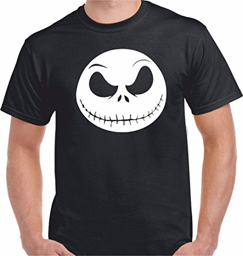 DrMugCollection Camiseta Jack Pesadilla Antes de Navidad (XXL)