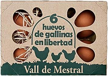 Roig Vall Mestral Huevos Camperos, 6 Unidades