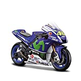 VR46–Miniatura moto Valentino Rossi Moto GP Yamaha Racing 16escala 1/10....
