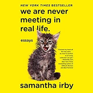 We Are Never Meeting in Real Life audiobook cover art