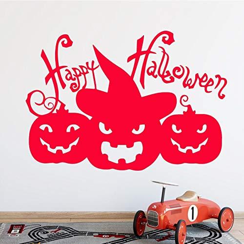 sanzangtang pompoenpatroon wandsticker kinderkamer decoratie aftrekbaar vinyl sticker zelfklevend waterdicht creatief