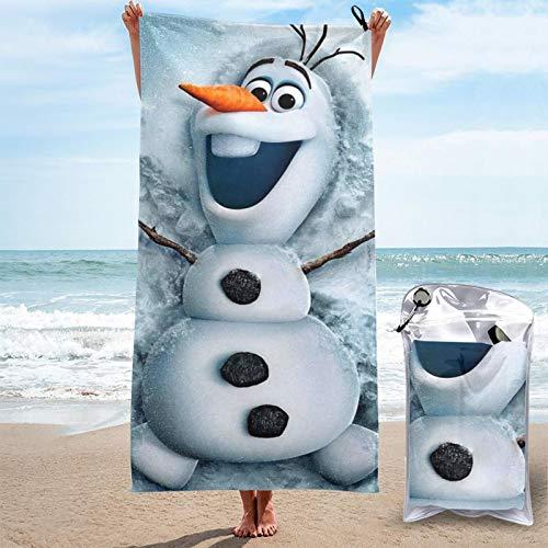 Toalla de secado rápido O-Laf toallas de microfibra absorbentes ligeras y portátiles toalla de baño para acampar/deportes/viajes/fitness 81.5 x 163 cm