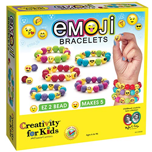 Creativity For Kids Pulseras de Diferentes Emojis Playset