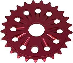 red bmx sprocket