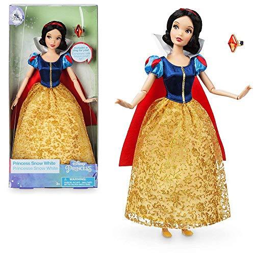 Offizielle Disney 30cm Schneewittchen Klassische Puppe mit Ring