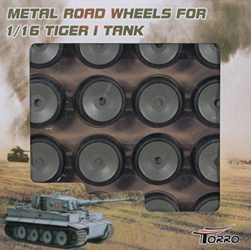 Torro Alu Laufrollen Set Frühe Version für Torro Tiger 1 Panzer