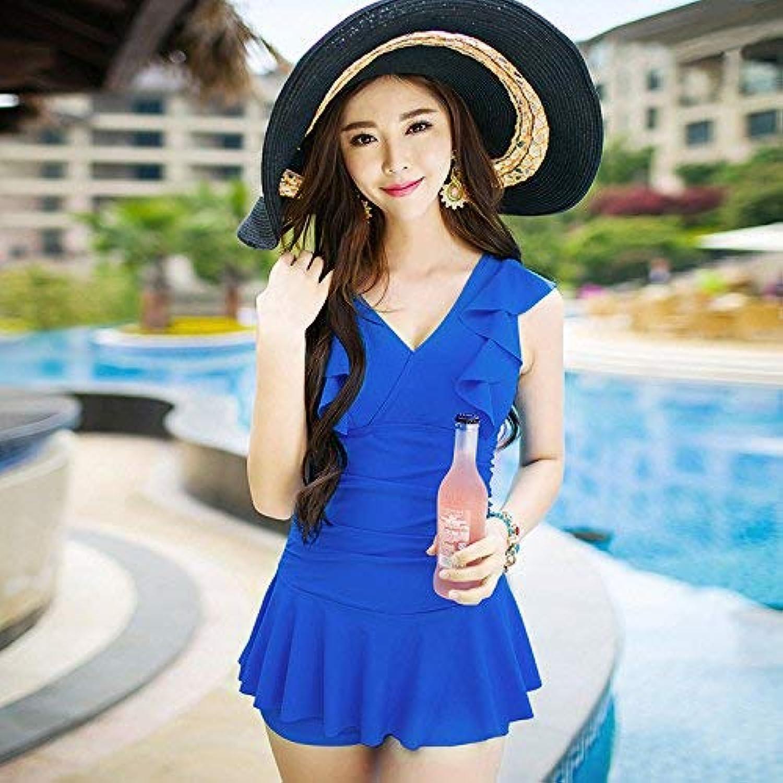 ZHRUI President Split-Badeanzug Rock-Art-stilvoller Badeanzug, Saphir-Blau, XL (Farbe     Wie Gezeigt, Größe   Einheitsgröße) B07MFDCDZQ  Stilvoll und lustig 59af0f