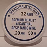 0,20 mm Kanthal A1 (32 AWG) - 50 metre carrete
