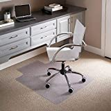 Flash Furniture 45'' x 53'' Carpet Chair Mat with Lip