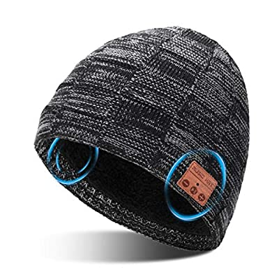 Amazon - Save 50%: Bluetooth Beanie Hat for Adult Men Women, Music Christmas Birthday Gift