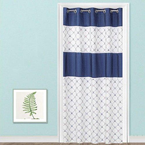 Rideau de porte Liuyu · Maison de Vie Tissu coupé Salon Chambre Baie vitrée Longue (Taille : 200 * 200cm)