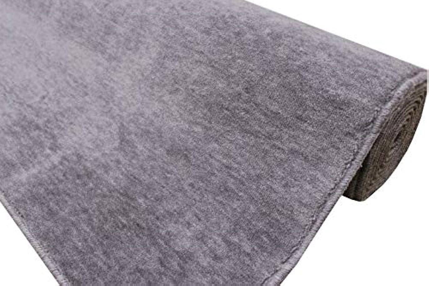 満足層安いです防炎カーペット 4.5畳 261x261cm じゅうたん 江戸間4.5帖 グロッソ/グレー