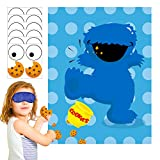 PANTIDE Sesame Party Games for Kids | Pin The Eye...