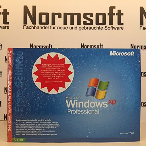 Microsoft Windows XP professional SP 3 deutsch 32 BIT