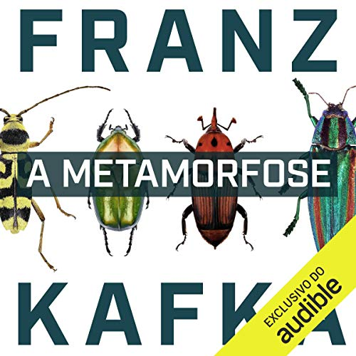 A Metamorfose [The Metamorphosis] audiobook cover art