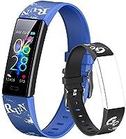 Dwfit Pulsera Actividad Inteligente Reloj Inteligente para Niños Niñas, Impermeable IP68 Deportivo Smartwatch con...