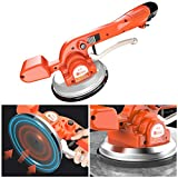 CRZJ Electric Tiling Machine, Handheld Tile Automatic Leveling Tool - Maximum Adsorption Of 120kg - One Button Fixed Vibrating Tiler Machine - Suitable For Tiles Up To 100cm