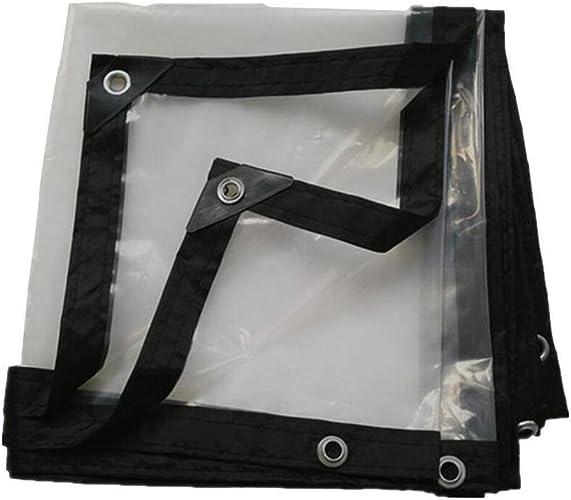 Z-P Tente Bordure épaississante Transparente Perforée Feuille De Plastique Imperméable Feuille De Culture De Balcon De Culture De Fleur De Balcon