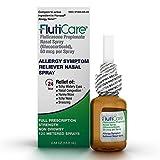 FlutiCare 120 metered nasal sprays (1 pack), Fluticasone Propionate 50mcg, Relief During Allergy Season from Pollen, Dust, Dander, Both Indoor and Outdoor allergens - 1 month supply