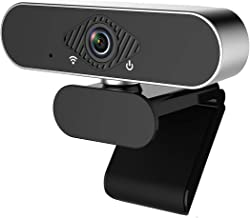 Castries 1080P Webcam with Microphone, HD PC Webcam Laptop Plug and Play USB Webcam Streaming Computer Web Camera with 11...