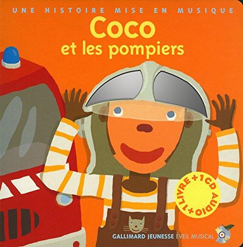 Coco Et Les Pompiers Livre Cd