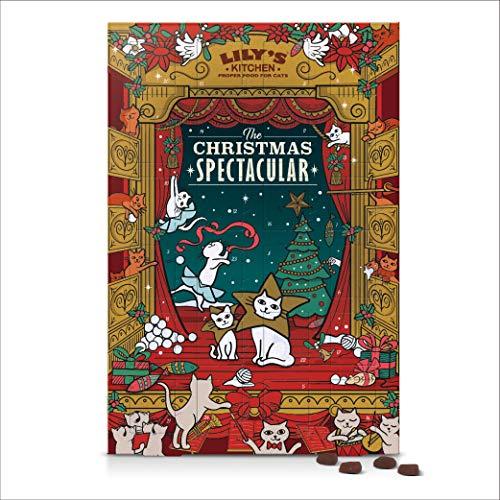 Lilys Kitchen Natural Cat Christmas Advent Calendar 24 Servings