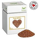 TEALAVIE - Rooibos Tee lose | Pure Africa - weicher lieblicher Teegenuss | 130g Dose loser Rotbusch Tee aus Südafrika