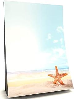 Maldive sogno spiaggia su entrambi i lati con stampa completo Set da pezzi con motivo Buste DIN lungo